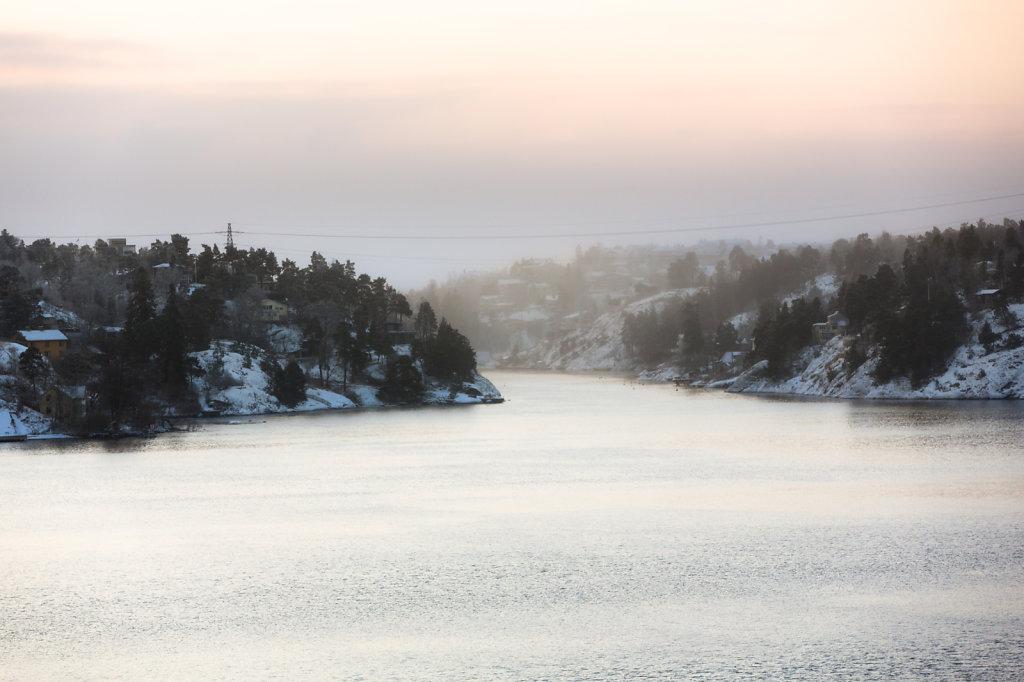 Höyryää se meri Tukholmassakin